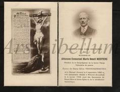 Doodsprentje / Bidprentje / Avis De Décès / Athanase Emmaunuel Marie Benoit Mertens / Mortsel / 1938 / 2 Scans - Overlijden