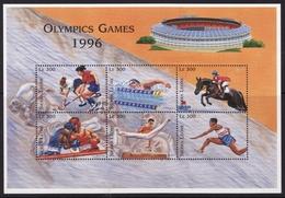 Sierra Leone #1881 Sheet Of 6, F-VF Mint NH ** 1996 Atlanta Summer Olympics - Summer 1996: Atlanta