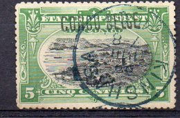 CONGO -COB 30L-  5c   SURCH LOCALE  L5 - OBL -  BB7 - 1894-1923 Mols: Oblitérés