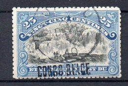 CONGO -COB  33La - 25c Type II-  SURCH  LOCALE   L2 -  OBL -   BB7 - 1894-1923 Mols: Afgestempeld