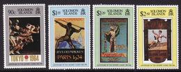 Solomon Islands #829-32, VF Mint NH ** 1996 Atlanta Summer Olympics - Summer 1996: Atlanta