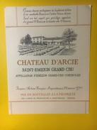 3433 - Château D'Arche Saint-Emilion - Bordeaux
