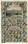 AK Leipzig Studentika, 500jähr. Jubelfeier Der Leipziger Universität 1909, Wappen Der Verbindungen Und Vereine (6679) - Leipzig