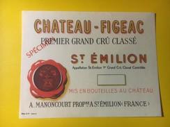 3436 - Château Figeac Saint-Emilion Spécimen - Bordeaux