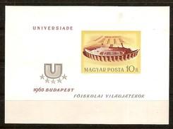 Hongrie Ungarn Hongarije 1965 Yvertn° Bloc 55 ND Ongetand Non Dentélé *** MNH Cote 25 Euro - Hojas Bloque