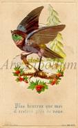 Ancien Carte / Card / Plus Heureux Que Moi Il Restera Prés De Vous. / Serie 309.N.7 / Ed. Aubry Paris / Henri / W - Vögel