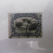 Timbre  Etats  Unis  D Amerique  1901  Dentele  12  5c  Outremer Et  Noir - Etats-Unis