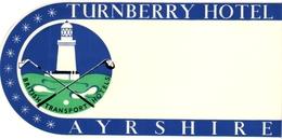 1 Hotel Label Turnberry Hotel Ayrshire  UK  GOLF - Golf