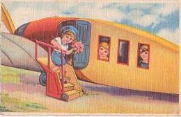 Avion        32         ( La Descente De L'avion )( Illustration ) - Avions