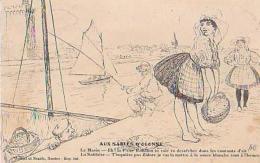 Illustration Humour        26        Aux Sables D'Olonne ( Le Marin , La Sablaise ) - Non Classés
