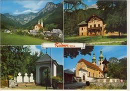 RADMER - Mehrbildkarte Kirche, Kriegerdenkmal, Jagdschloß - Österreich