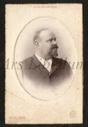 Cabinet Card / Photo De Cabinet / Kabinet Foto / Homme / Man / Photo Gustave Ouvière / Marseille / France / 2 Scans - Anciennes (Av. 1900)