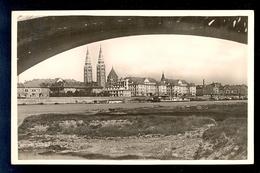 Szeged Fogadalmi Templom / Postcard Circulated, 2 Scans - Ungheria