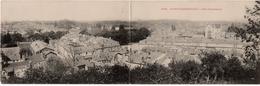 Sainte Menehould : Carte Panoramique Double Format : Vue Panoramique (Editeur Non Mentionné) - Sainte-Menehould