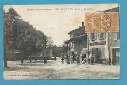 CPA 85 - Hôtel Du Commerce La Place DOUVRES 01 - Otros Municipios