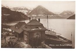 VITZNAU Neue Dampfschifflände Dampfschiff - LU Lucerne