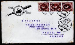 A4536) Ägypten Egypt Advertising Cover SWAN PENS From Alexandria 02/07/27 - Ägypten