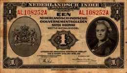 PAYS BAS INDE NEERLANDAISE  1 GULDEN Du 2-3-1943  Pick111a - Dutch East Indies