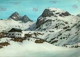 Rifugio Fratelli Calvi (Bergamo) Alta Valle Brembana, Panorama Invernale, View In Winter, Didascalia Montagne - Bergamo