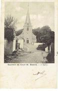 Souvenir De COURT ST ETIENNE - L' Eglise - Court-Saint-Etienne