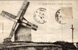 LANCIEUX LE MOULIN ET LE CALVAIRE - Lancieux