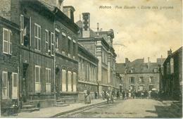 08 - MOHON - Rue Baudin, école De Garçons - Frankreich