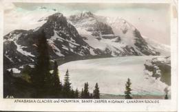Canada. Athabaska Glacier And Mountain - Alberta