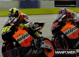 Citrus 1203 Corse Moto GP 46 Valentino Rossi Cartolina Postale CPM Italy Motocyclisme Motorcycling - Moto