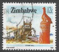 Zimbabwe. 1985 National Infrastructure. 12c Used. SG 665 - Zimbabwe (1980-...)