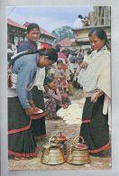 CPM - Kathmandu (Népal) - 29. Typical Women Preparing For Worship   // Religion - Nepal