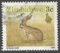 Zimbabwe. 1990 Definitives. 3c Used. SG 770 - Zimbabwe (1980-...)