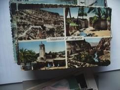 Algerije Alger Algérie Souvenir 1958 - Postkaarten