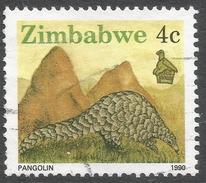 Zimbabwe. 1990 Definitives. 4c Used. SG 771 - Zimbabwe (1980-...)