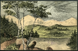 """Leucht - Postkarte """"RADIUM"""", 25.8.1910, Von Litzlberg (Seewalchen) Nach Wien Elektrizitätswerke - Ansichtskarten"""