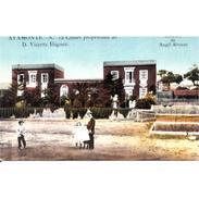 HLVTP7315-LFTD6832.Tarjeta Postal DE HUELVA.Jardines,casa Chalet De D. VIVENTE IÑIGUEZ En AYAMONTE - Huelva