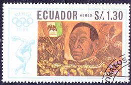 Ecuador - José Clemente Orozco: Präsident Juarez (MiNr. 1315) 1967 - Gest. Used Obl. - Equateur