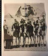 Egypt Egitto Piramidi Cammello Camel - Churcill Lawrens D'Arabia Feisal I Gertrude Bell - 39525 - Unclassified
