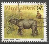 Zimbabwe. 1990 Definitives. 9c Used. SG 773 - Zimbabwe (1980-...)