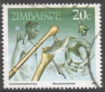 Zimbabwe. 1990 Definitives. 20c Used. SG 775 - Zimbabwe (1980-...)