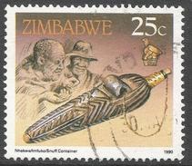 Zimbabwe. 1990 Definitives. 25c Used. SG 777 - Zimbabwe (1980-...)