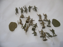 AIRFIX VINTAGE SOLDATINI 1 72 FANTERIA INGLESE. - Militaires