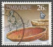 Zimbabwe. 1990 Definitives. 26c Used. SG 778 - Zimbabwe (1980-...)