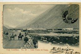 CHILI - VIAJE CORDILLERA -Valle Punta De Vacas - Chile