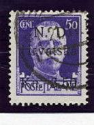 CROATIA (Dalmatia) 1944 Sibenik Local Issue 3.50 K On 50 C. Used.  Michel 5 - Croatia