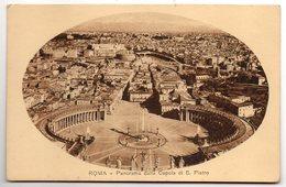 Vatican--ROME--1917--Panoroma Dalla Cupela Di S.Pietro  N° 0302 S 1  éd Ris Coop Vend Amb - Vatican