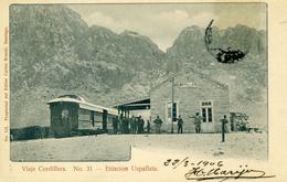 CHILI - VIAJE CORDILLERA - Estacion Uspallata N°31 - Train - Chili