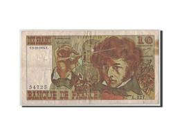France, 10 Francs Berlioz, 1974, KM:150a, Fayette:63.7b, 1974-10-03, B - 1962-1997 ''Francs''