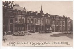 59. 542/ MONS EN BAROEUIL - Maison De Famille - Façade Côté Parc - Autres Communes