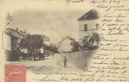 THONON LES BAINS (74)   ENTREE DE LA VILLE - EDIT PITTIER - Thonon-les-Bains