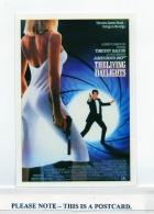 Postcard - James Bond Films, The Living Daylights - New Unused - Unclassified